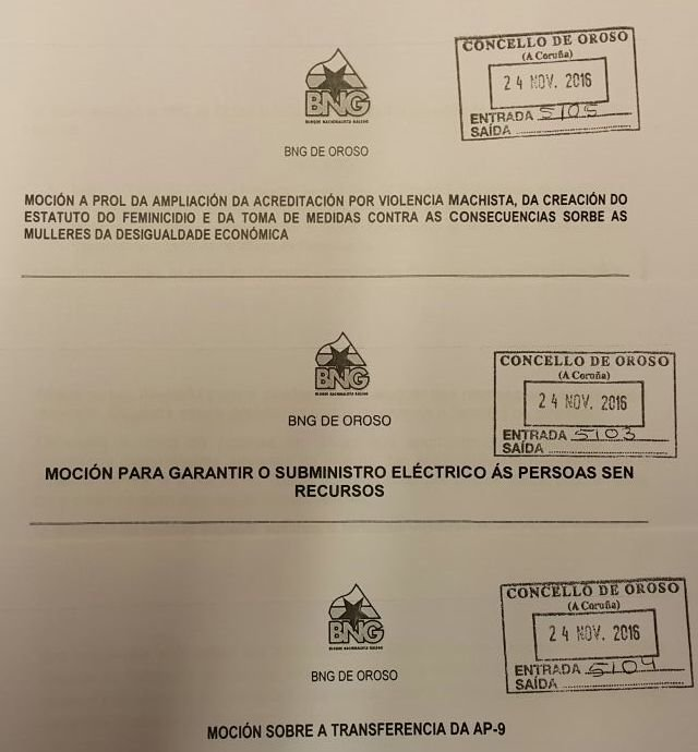 Sesión ordinaria do Pleno de novembro